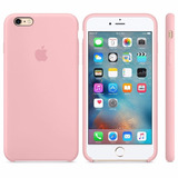 Funda Apple Silicona Silicone Case Para Iphone 6s Rosa Pink