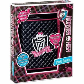 Monster High Diario Eletrônico - Com Caneta Invisível Origin