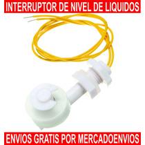 Interruptor Tipo Flotador Para Sensar Nivel De Líquidos