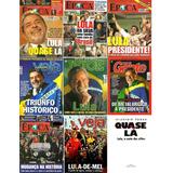 Lote: 10 Revistas.08 Lula+02 Dilma+livro Autografado Grátis!