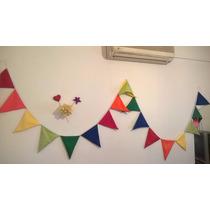 Banderines De Tela Varios Colores 45 $!!