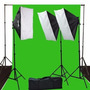 Pantalla Verde Ephoto 10 X 12 Chromakey Green Screen Digital