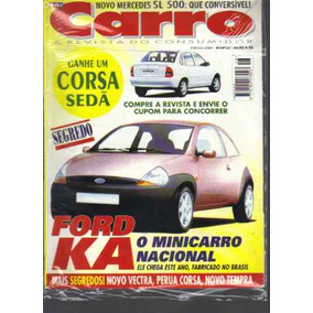 Carro A Revista Do Consumidor N 28-ano 3-fev 1996-ford Ka