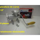 Picadora De Carne Nro12 Gastronomica Carniceria Moledora