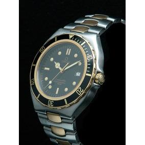 Omega Seamaster Professional Diver 200m Pre-bond Aço / Ouro