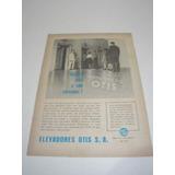 ( L - 290 ) Propaganda Antiga Elevadores Otis # 1