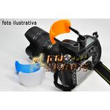 Difusor Tres Cores P/ Flash Pop Up Acessório P/ Nikon Canon