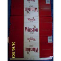 Envoltorio De Dos Cartones De Cigarrillos Winston