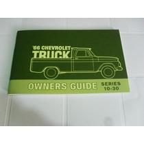 Manual De Propietario De Chevrolet Camionetas Y Pickup 1966