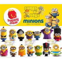 Minions 2015 Coleção Mc Donalds Completa