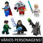 Minifigures Lego Compatíveis Batman Star Wars Dc Comics Av1