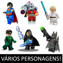 Minifigures Lego Compatíveis Batman Star Wars Dc Comics Av1