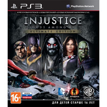 Injustice Gods Among Us Ult Edition Play 3 Codigo Psn !!!