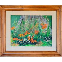 Pintura Cuadro Oleo Original Impresionista Patagonia