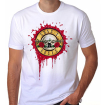 Camiseta Camisa Rock Guns N Roses Tour Turne Brasil 2016