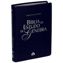 Bíblia De Estudo Genebra + Dicionário Bíblico Vine