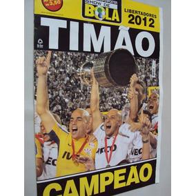 Revista Poster Corinthians Campeão Copa Libertadores 2012 Sb