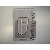 Manual De Instruções - Refrigerador Frost Free Dff37.40,44