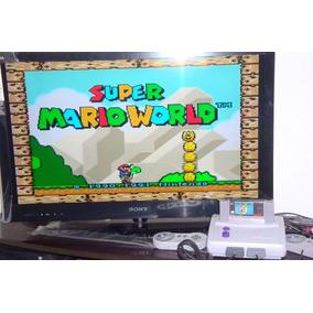 Super Nintendo Baby + 2 Controles + Mario + D.k. + Frete!