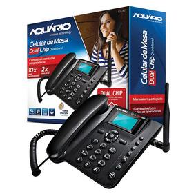 Telefone De Mesa P/ Sítio Dual Quadriband Ca-42 Frete Grátis