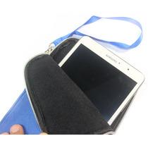 Capa Case Forrada Com Cinta Tablet Dl De 7 E 8 Polegadas