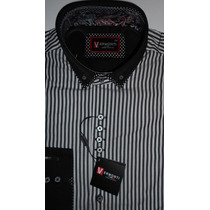 Camisas Vermonti Hombre Doble Cuello Slim Fit