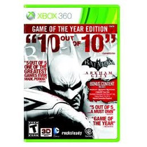 Jogo Batman Arkham City Português Game Do Ano Goty Xbox 360