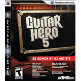 Videojuego Ps3 Guitar Hero 5 Stand Alone Software
