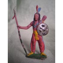 Forte Apache - Indio Com Lança E Escudo - Gulliver - Nº 31