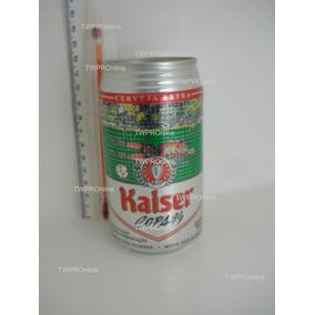 Lata (vazia) Cerveja Kaiser Copa 94