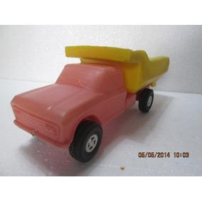 Caminhão Chevrolet Basculante Rosita Plastico Bolha