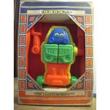Antiguo Juguete Robot Didactico,para Armar,plastico,nuevo