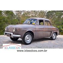Renault Gordini Teimoso , Nao Dauphine, Nao Pe De Boi