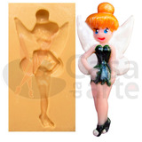 Molde De Silicone P/ Biscuit: Tinker Bell 1138