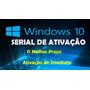 Chave Ativação Windows 10 Profissional 32 & 64 Bits Original