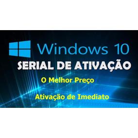 Chave Serial Ativação Windows 10 Profissional Original