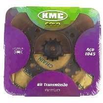 Kit De Transmissão Fazer 250 Marca Kmc Aço 1045 Com Retentor