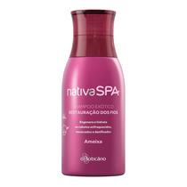 Nativa Spa Shampoo Exótico Restauração Dos Fios Ameixa, 400m