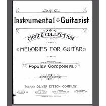 Partituras Guitarra Clasica Mertz Foster Romero Hayden