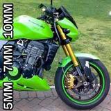 Friso Adesivo Colorido Curvo Roda Moto Carro 5, 7, 10 Mm