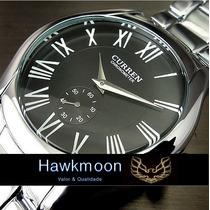 Relógio Masculino Curren - 2014 - Clássico Stainless Steel