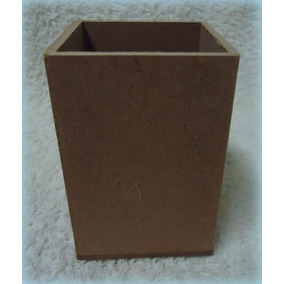 Porta Lápis Mdf 6x6x9,3 / Artmundialjb