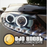 2 Ojos De Angel Aros Universal Led Fluorescente 7 Cm Diametr