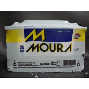 Bateria Moura 70 Amperes Garantia De 18 Meses Retira