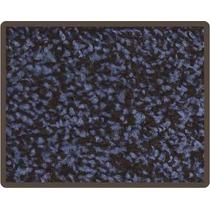 Remate De Alfombras 2x3 Color Azul Con Negro