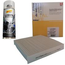 Kit Filtro Ar Condicionado + Higienizador Corolla Hilux Rav4