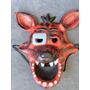 Mascaras Five Nights At Freddys Goma Latex 3d Foxy