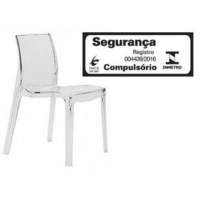 Cadeira Transparente Acrilico Policarbonato = Femme Fatale