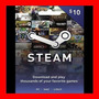 Tarjeta Steam Wallet Card 10$ Usd Para Dota2 Oferta !!!