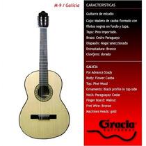 Guitarra Clásica Gracia Modelo M9 Con Funda